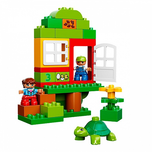 Lego Duplo 10580 Deluxe Box of Fun Набор для веселой игры