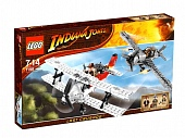 Lego Indiana Jones 7198 Fighter Plane Attack Атака истребителя