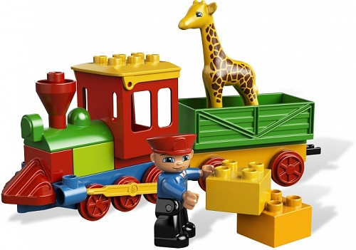 Lego Duplo 6144 Zoo Train Зоо-паровозик