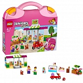 "Lego Juniors 10684 Supermarket Suitcase Чемоданчик ""Супермаркет"""