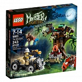 Lego Monster Fighters 9463 Were Wolf Нападение оборотня