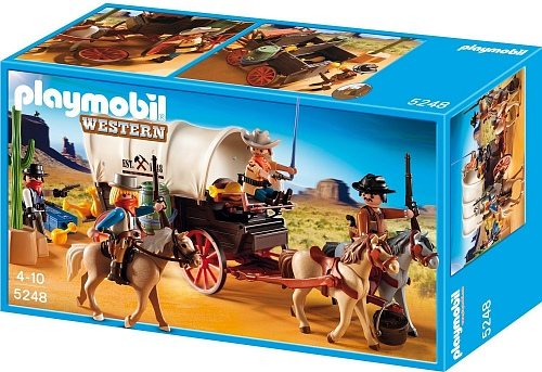 Playmobil 4399pm Дикий Запад: Дилижанс