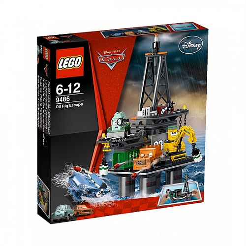 Lego Cars 9486 Oil Rig Escape Операция