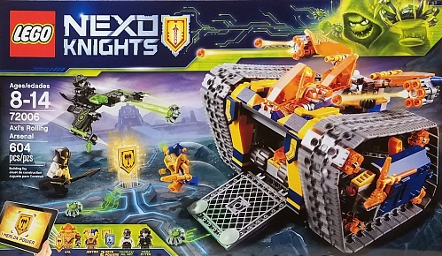 Lego Nexo Knights 72006 AXL's Rolling Tank of Death