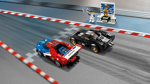 Lego Speed Champions 75881 2016 Ford GT & Ford GT40 1966