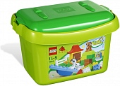 Lego Duplo 4624 Brick Box Green Набор кубиков LEGO DUPLO