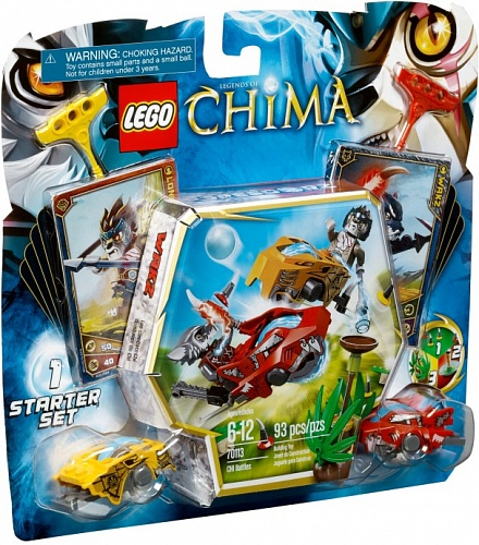 Lego Legends of Сhima 70113 CHI Battles Бойцы Чи