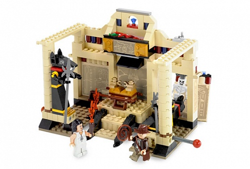 Lego Indiana Jones 7621 Indiana Jones and the Lost Tomb Индиана Джонс и заброшенный склеп