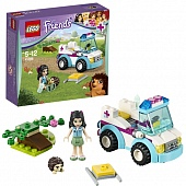 Lego Friends 41086 Vet ambulance Ветеринарная скорая помощь