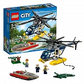 Lego City 60067 Police Helicopter Погоня на полицейском вертолете