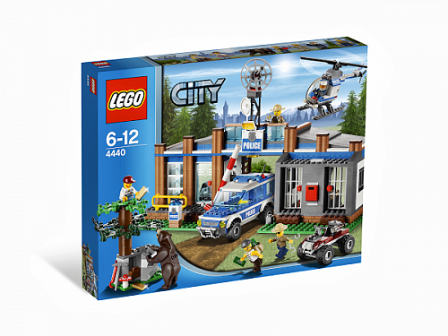Lego City 4440 Forest Police Station Пост лесной полиции