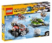 Lego Racers 8863 Blizzard's Peak Снежный буран