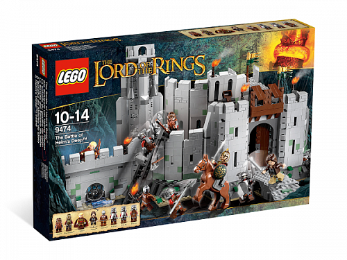 Lego Lord of the Rings 9474 The Battle Of Helm's Deep Битва за Хельмову Падь
