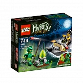 Lego Monster Fighters 9461 Swamp Monster Болотный Монстр