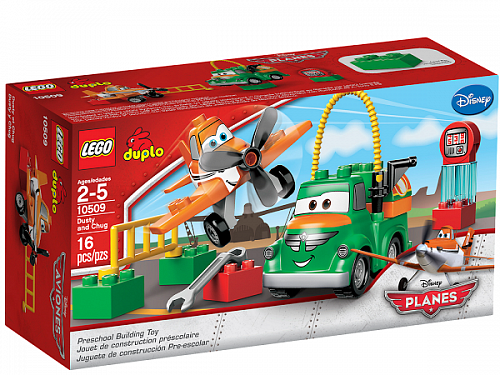 Lego Duplo 10509 Dusty and Chug Дасти и Чух