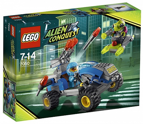 Lego Alien Conquest 7050 Alien Defender