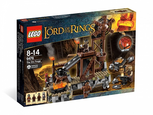 Lego Lord of the Rings 9476 The Orc Forge Кузница Орков
