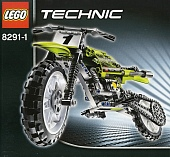 Lego Technic 8291 Dirt Bike (Мотоцикл для кросса)