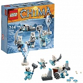 Lego Legends of Сhima 70230 Polar Bears Tribe Battle Pack Лагерь ледяных Медведей