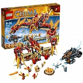 Lego Legends of Сhima 70146 Flying Phoenix Fire Temple Огненный летающий Храм Фениксов