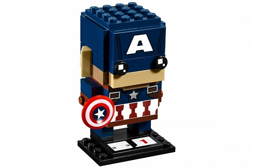 Lego BrickHeadz 41589 Marvel Super Heroes: Капитан Америка