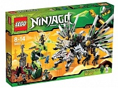 Lego Ninjago 9450 Epic Dragon Battle Последняя битва