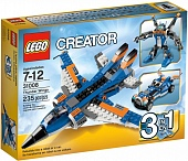 Lego Creator 31008 Thunder Wings Истребитель