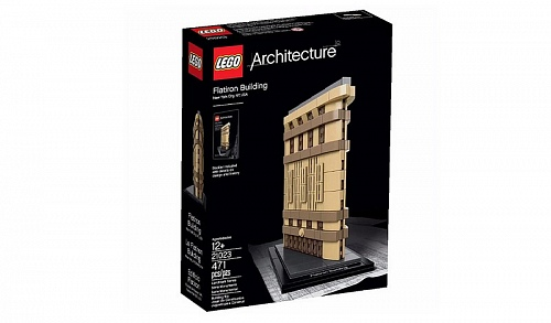 Lego Architecture 21023 Flatron Building, New York