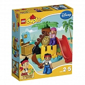 Lego Duplo 10604 Jake and the Never Land Pirates Treasure Island