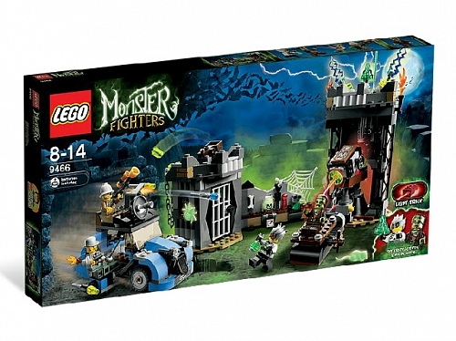 Lego Monster Fighters 9466 The Crazy Scientist & His Monster Безумный Ученый и Его Монстр