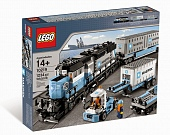 Lego City 10219 Maersk container train Грузовой поезд Маерск