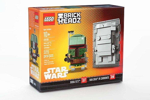 Lego BrickHeadz 41498 Star Wars: Boba Fett and Han Solo in Carbonite