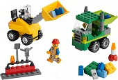 Lego 5930 Road Construction Building Set Строим дороги