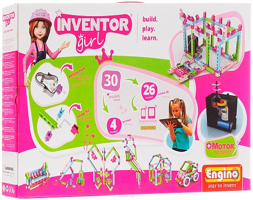 Конструктор Engino IG30 Inventor Girls 30 моделей