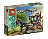 Lego Kingdoms 7949 Prison Carriage Rescue Погоня за повозкой с пленником