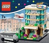 Lego Exclusive 40141 Bricktober Hotel