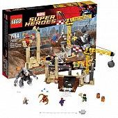 Lego Super Heroes 76037 Rhino and Sandman Super Villain Team-up Рино и Песочный человек