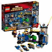 Lego Super Heroes 76018 Hulk Lab Smash Лаборатория Халка
