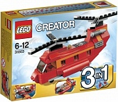 Lego Creator 31003 Red Rotors Грузовой вертолёт