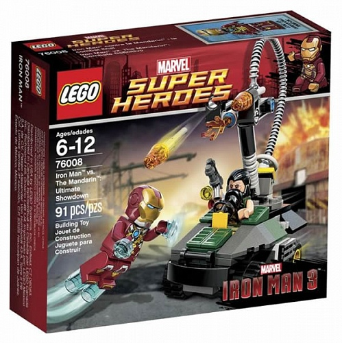Lego Super Heroes 76008 Iron Man vs The Mandarin: Ultimate Showdown