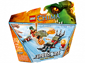 Lego Legends of Сhima 70150 Flaming Claws