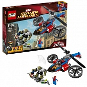 Lego Super Heroes 76016 Spider-Helicopter Rescue Спасение Вертолета Паука