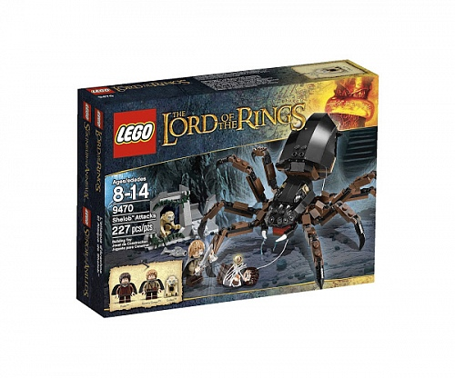 Lego Lord of the Rings 9470 Shelob Attacks Атака Шелоб