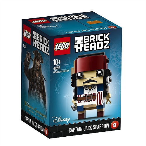 Lego BrickHeadz 41593 Dead Men Tell No Tales: Капитан Джек Воробей