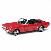 Welly 12519 Игрушка модель машины 1:18 Ford Mustang 1964