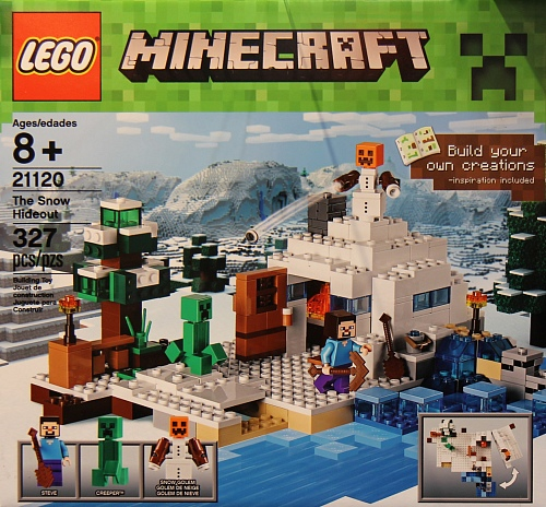 Lego Minecraft 21120 The Snow Hideout