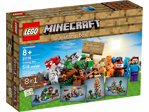 Lego Minecraft 21116 Creative Box