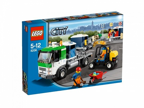 Lego City 4206-2 Recycling Truck